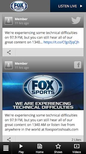 Fox Sports Shoals WSBM-FM screenshots 1