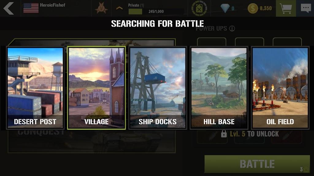War Machines: Tank Army Game poster 5