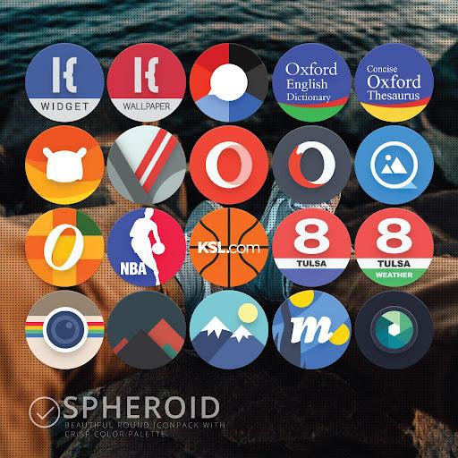 Spheroid Icon screenshots 14