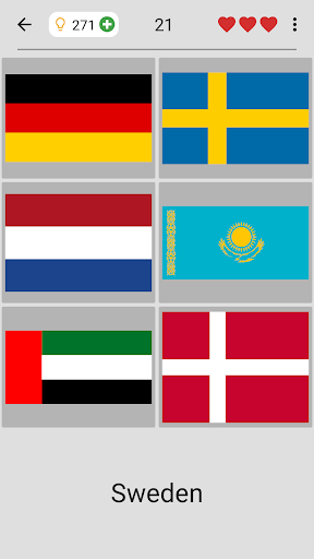 Flags of All Countries of the World: Guess-Quiz 3.1.0 screenshots 3