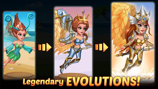 Firestone Idle RPG: Tap Hero Wars MOD (Energy/God Mode) 2