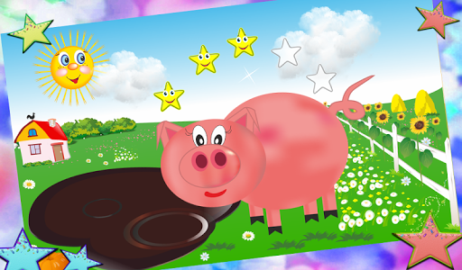 Well-fed farm (for kids)  screenshots 15