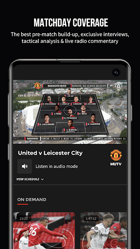 MUTV – Manchester United TV 2.9.3 screenshots 1