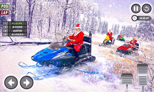 Santa Atv Snow Bike Racing 2020 : Quad Bike Race 1.1 Screenshots 3