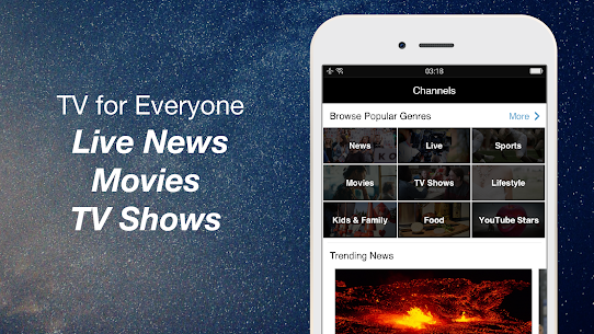 FREECABLE TV App: Free TV Shows, Free Movies, News 8.68 Mod + Data Download 3