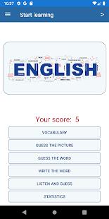 Learn English vocabulary: English words