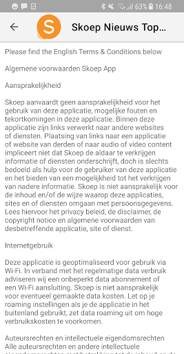 Skoep Nieuws  screenshots 2