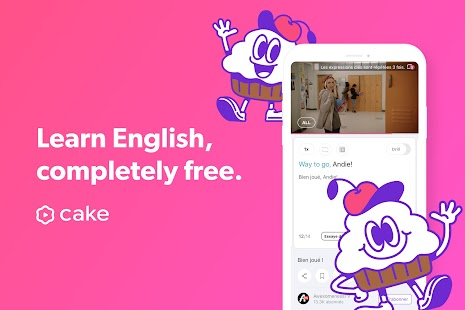 Cake - Learn English for Free Screenshot