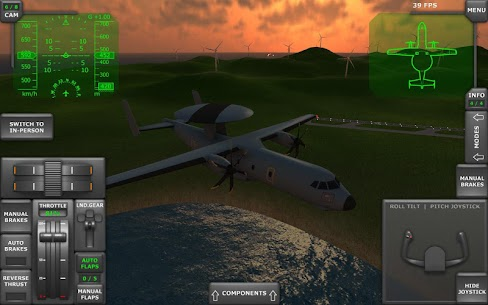 Turboprop Flight Simulator 3D MOD APK 1.26.2 (Unlimited Money) 13