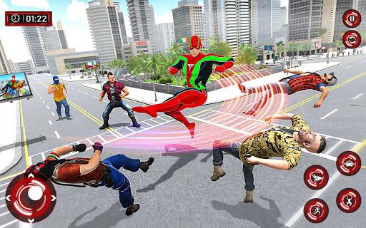 Superhero Light Robot Rescue: Speed Hero Games  Screenshots 3
