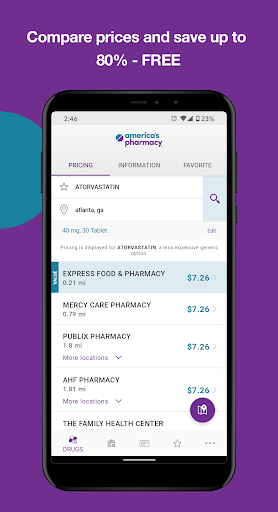 America's Pharmacy screenshot for Android