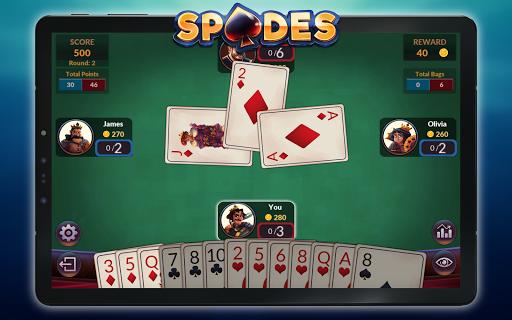 Spades - Offline Free Card Games android2mod screenshots 22