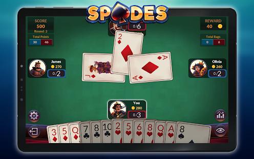Spades - Offline Free Card Games screenshots 15