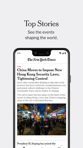 The New York Times 9.27 Screenshots 1