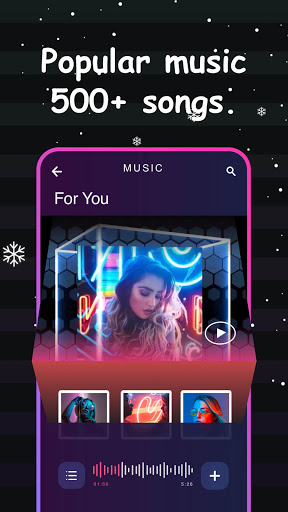 Vinkle u2013 Music Video Maker, Magic Effects  Screenshots 1
