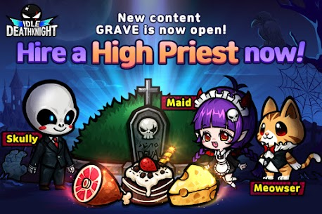 IDLE Death Knight – afk, rpg, clicker games Apk Mod + OBB/Data for Android. 2