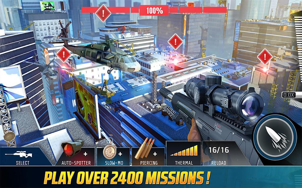 Kill Shot Bravo: 3D FPS Shooting Sniper Game  poster 1