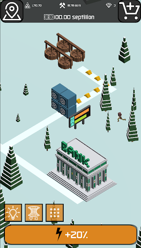 Minr - Gold Idle Incremental Rush Goldmine Tycoon  screenshots 13