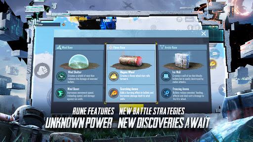 PUBG MOBILE - RUNIC POWER  APK screenshots 3
