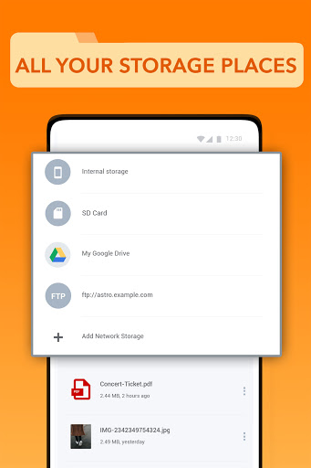ASTRO File Manager: Storage Organizer & Cleaner screenshots 3