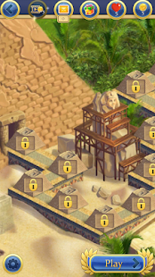Curse of the Pharaoh - Match 3 Screenshot
