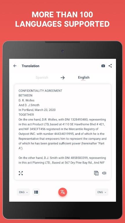 Scan & Translate+ Text Grabber  poster 7