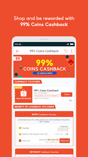 Shopee MY: 9.9 Shopping Day android2mod screenshots 4