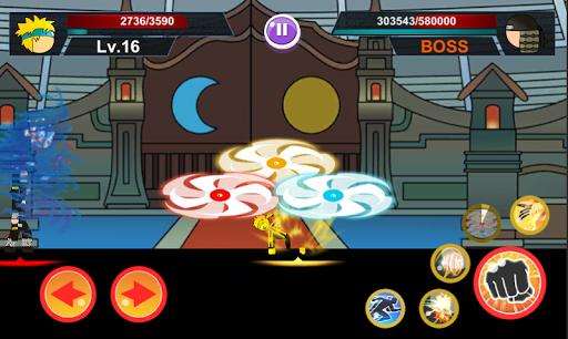Scarica Stickman Ninja 2: Ultimate ninja warrior mod apk 1