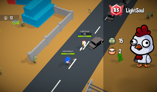 Zombie Battle Royale 3D io game offline and online 1.5.1 screenshots 6