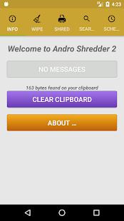 Andro Shredder Screenshot