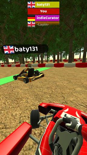 Code Triche Kart Rush 3D (Astuce) APK MOD screenshots 5
