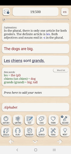 Learn French from scratch android2mod screenshots 2