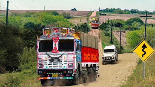 Code Triche Indian Truck Evolution (Simulator) - Hill Driving (Astuce) APK MOD screenshots 2