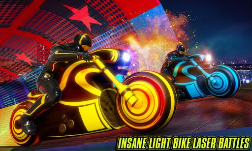 Light Bike Stunt Racing Game 18 screenshots 1