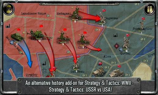 Strategy & Tactics:USSR vs USA Screenshot