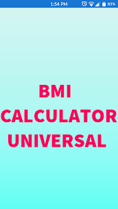 BMI Calculator Universal  For Pc – Download And Install On Windows And Mac Os 1