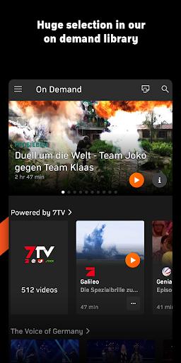 Zattoo - TV Streaming App apktram screenshots 7