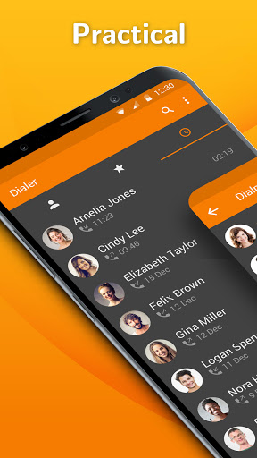 Simple Dialer - Manage your phone calls easily Latest screenshots 1