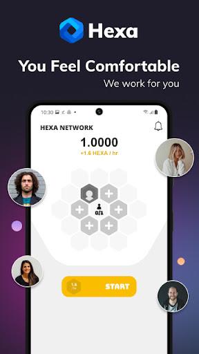 Hexa Network  screenshots 1