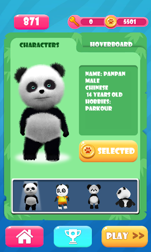 Panda Run apkpoly screenshots 4