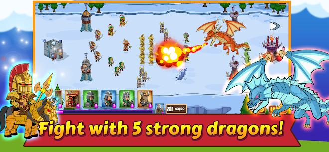 Dropwars MOD APK: Defense Kingdom Wars (Unlimited Gold) 4