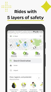 Ola, the #1 ride hailing app Screenshot