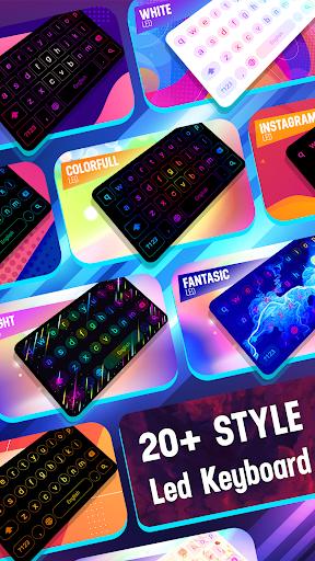 Neon LED Keyboard - RGB Lighting Colors 1.3.2 screenshots 1