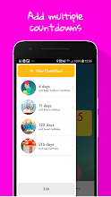 Birthday Countdown Widget screenshot thumbnail