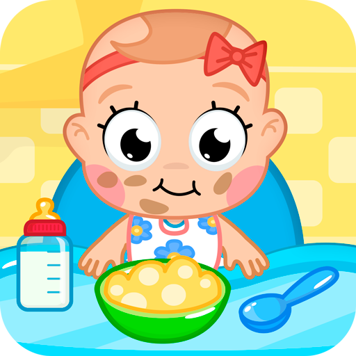 cuidados com o bebê: bebê jogo