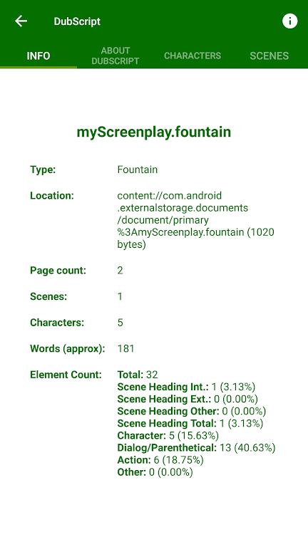 DubScript Screenplay Writer  poster 5