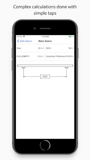 piping toolbox: asme, flange, fitting engineering screenshot 3