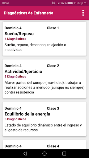 Diagnu00f3sticos de Enfermeru00eda 1.37 Screenshots 2