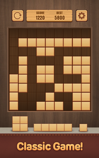 Wood Puzzle Block -Classic Puzzle Block Brain Game 1.5 screenshots 10