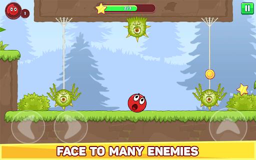 Bounce Ball 5 - Jump Ball Hero Adventure 3.9 Screenshots 11